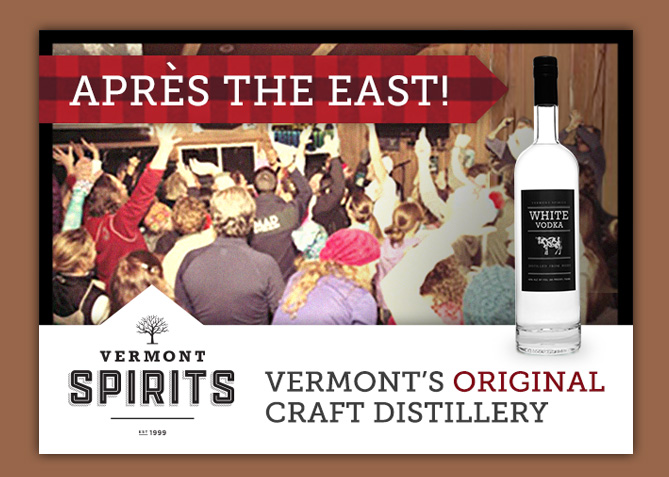 Print Advertising for Vermont Spirits