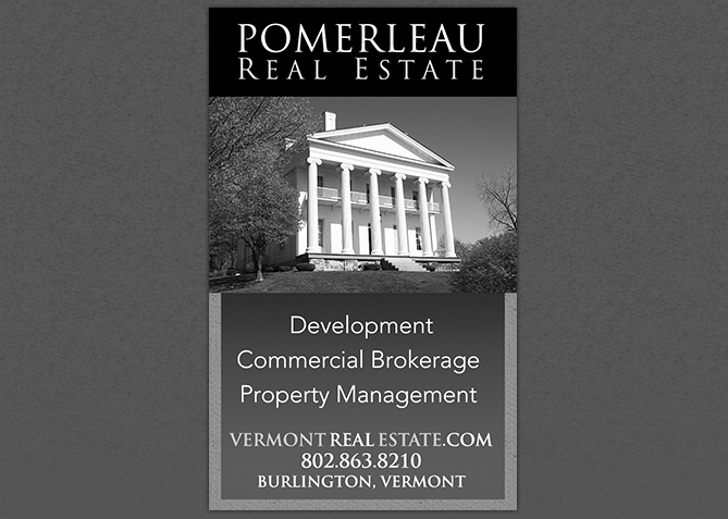 Print Advertising for Pomerleau Real Estate