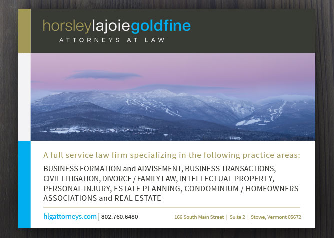 Print Advertising for HLG Attorneys at Law