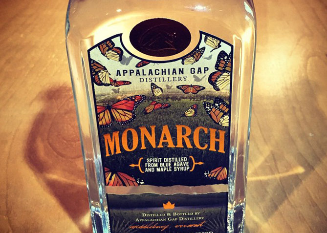 Label Design for Appalachian Gap Distillery