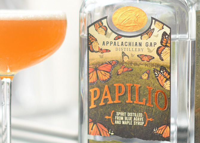 Label Design for App Gap Distillery