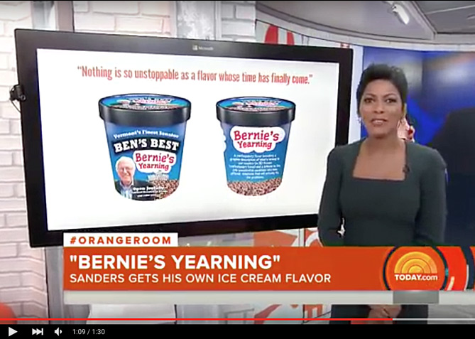Label Design for Bernie's Yearning