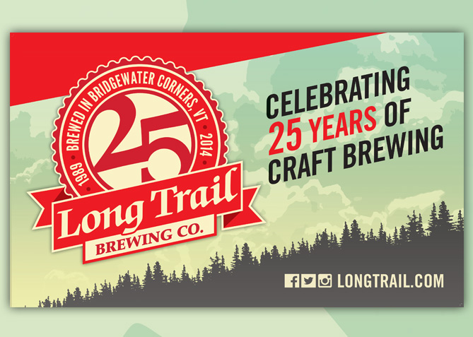 Event Banner for Long Trail Brewing Co.