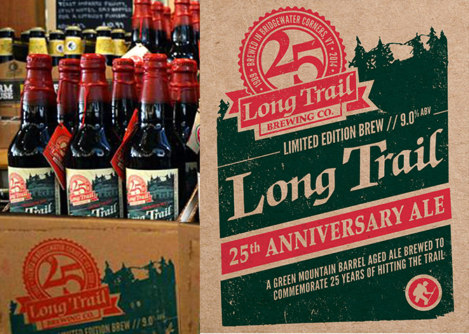 Label Design for Long Trail Brewing Co.