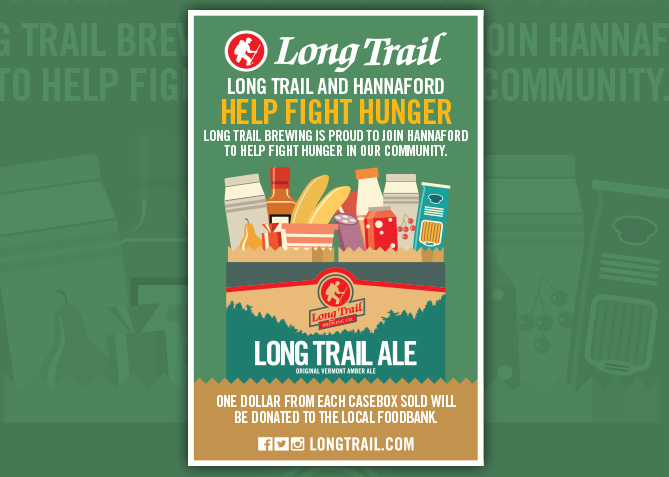 Packaging Design for Long Trail Brewing Co.