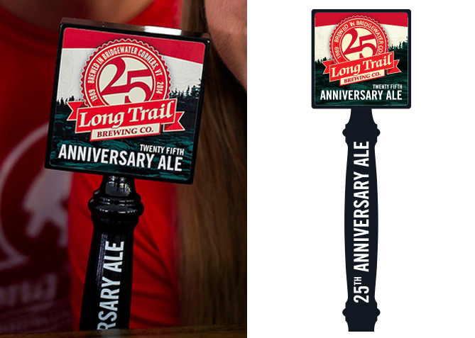 Tap Handle Design for Long Trail Brewing Co.