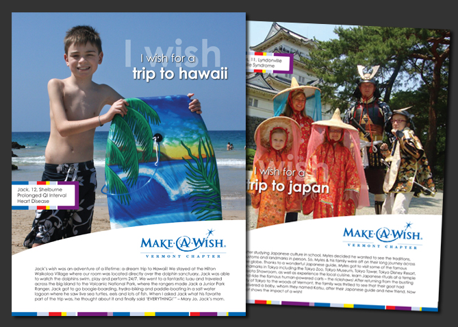 Point of Sale Advertising for Make-A-Wish Vermont