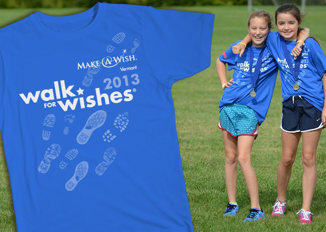Event Branding for Make-A-Wish Vermont