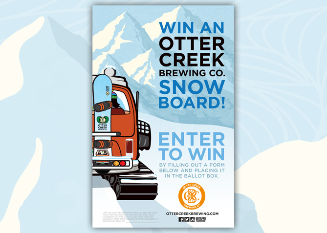 Advertising for Otter Creek Brewing Co.