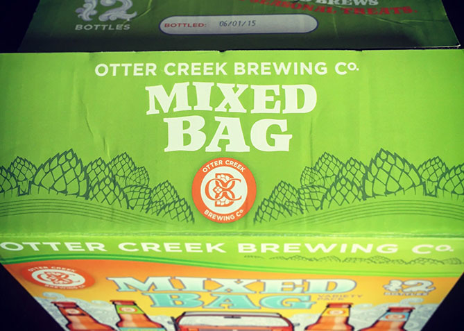 Packaging Design for Otter Creek Brewing