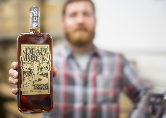 Label Design for Smugglers' Notch Distillery