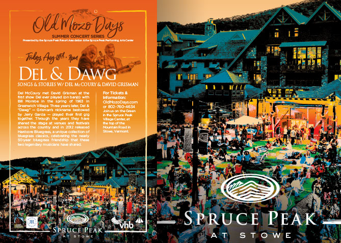 Poster Design, Branding for Stowe Mt. Club