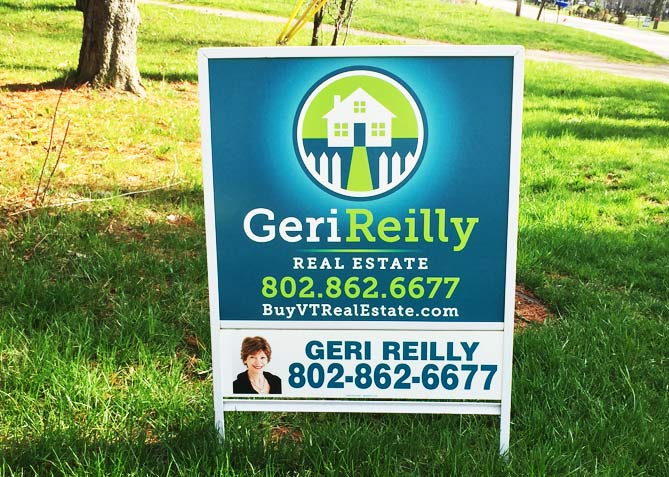 Graphic Design for Geri Reilly Real Estate