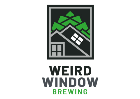 Weird Window Branding - branding and website for a Vermont brewery
