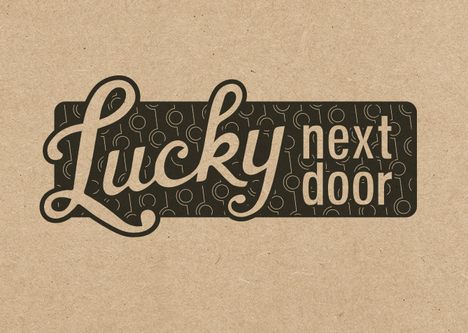 Logo for Lucky Next Door