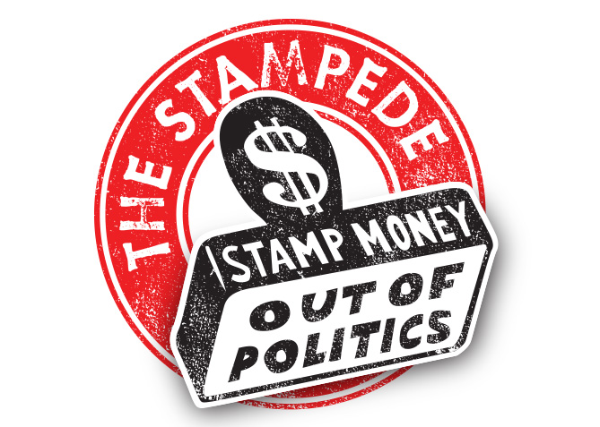 Logo Design for The Stamp Stampede