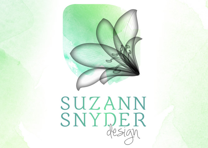 Logo Design for Suzann Snyder Landscape Design