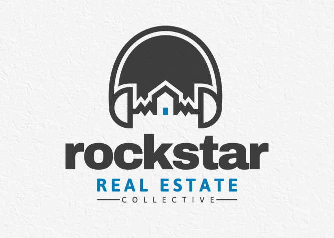 Logo Design for Rockstar Real Estate Collective