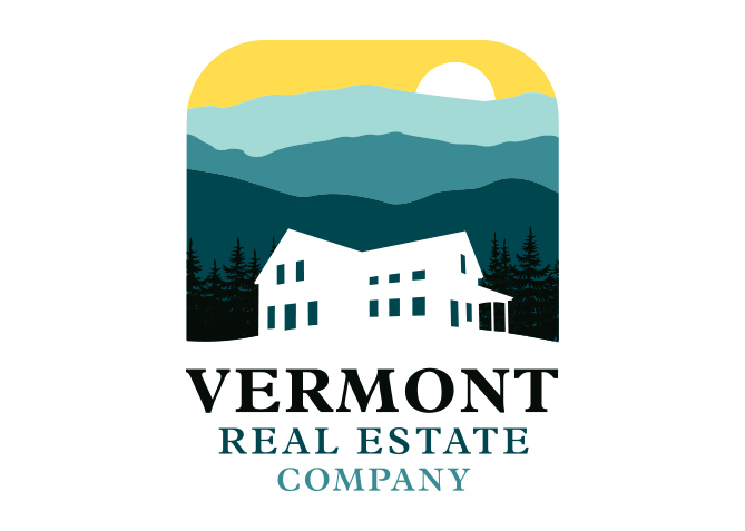 Logo Design for Vermont Real Estate Company