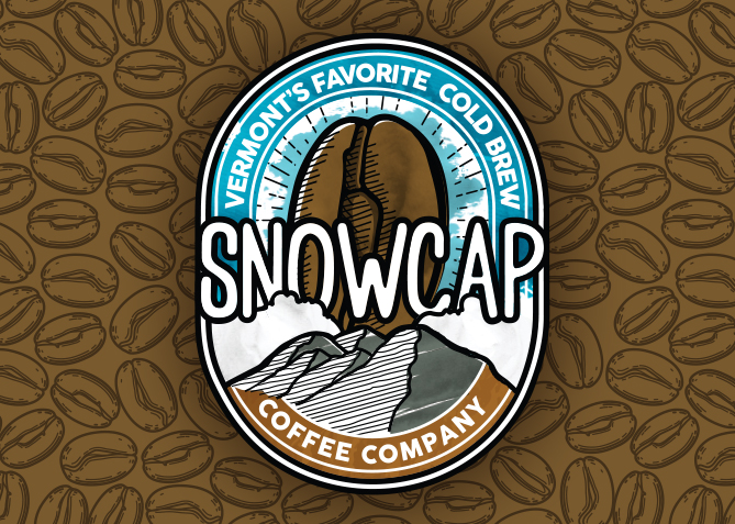 Logo Design for Snowcap Coffee Company