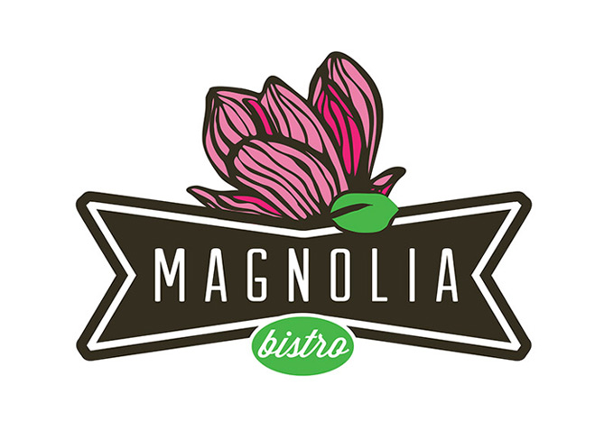 Logo Design, Branding for Magnolia Bistro
