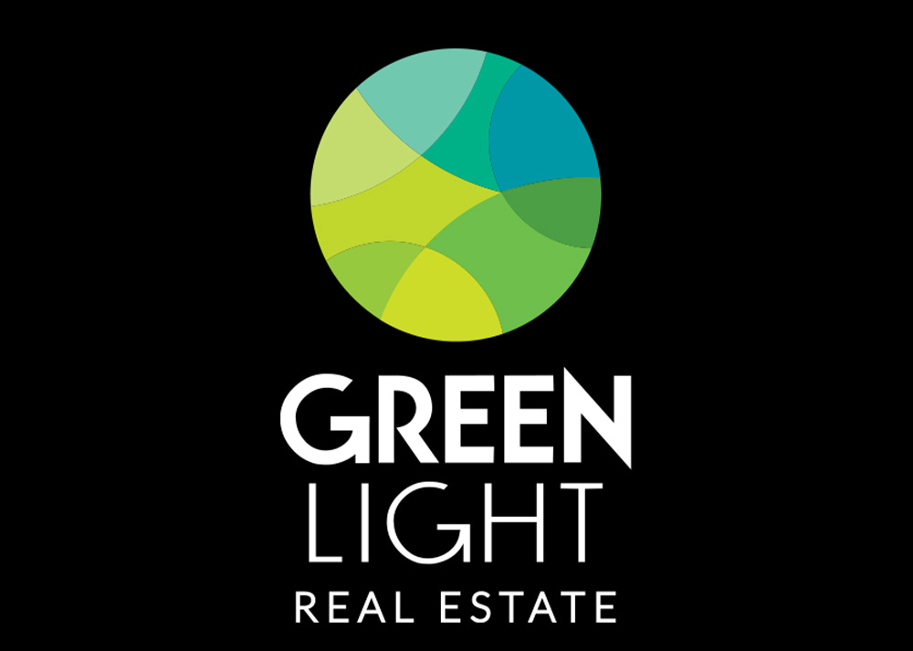 Logo Design, Branding for Green Light Real Estate