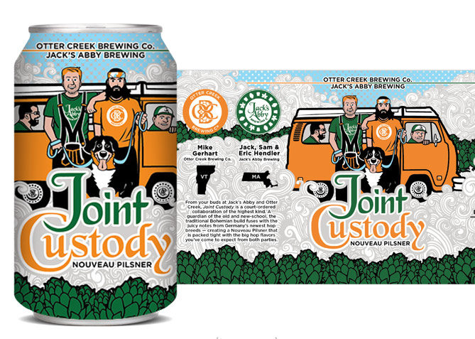 Label Design for Otter Creek Brewing Co.