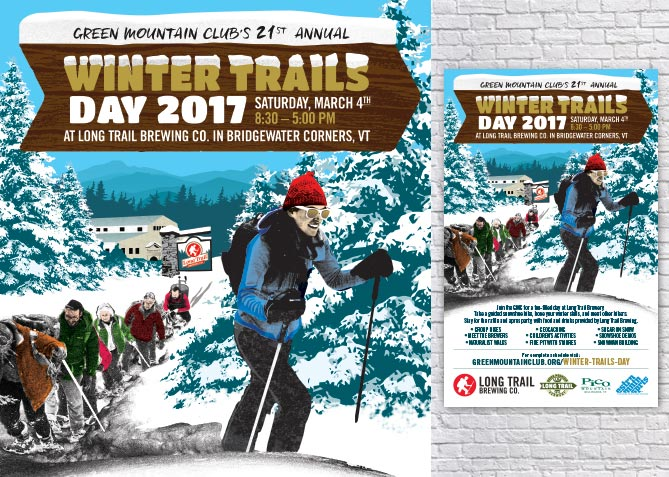 Event Poster for ong Trail Brewing Co.