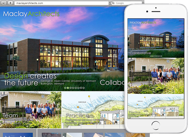 Responsive Website Design, Responsive Website Development for Maclay Architects